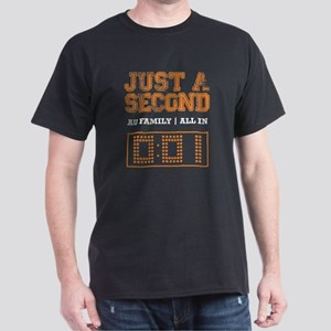 JUST A SECOND [WAR EAGLE!] Dark T-Shirt